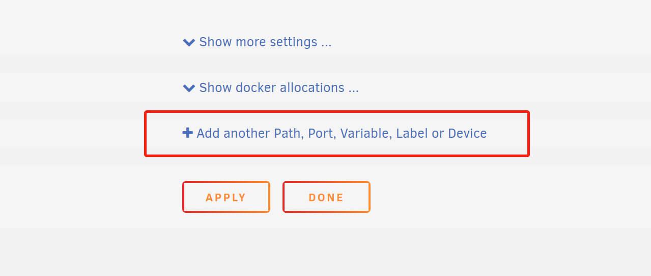 UNRAID Docker详解